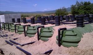 пречиствателна станция на полигон Ново Село