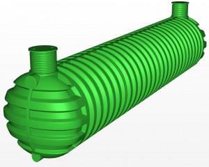Цистерна за чиста вода от Рото 40 000 л.