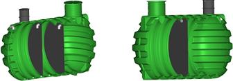 Еднокамерни и двукамерни септични резервоари